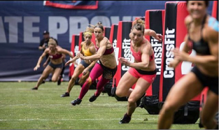 Sprint Chipper Event CrossFit Games 2013